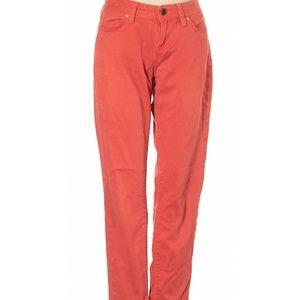 Banana Republic Factory Orange Demin Skinny Jeans